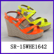 2015 summer sandals new modal shoes sexy lady shoes lady fashion shoe