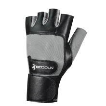 Weight Lifting Gloves with Long Wriststrap (0130012A)