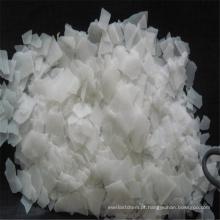 Floco industrial 99% da pérola da soda cáustica da categoria do hidróxido de sódio para a indústria têxtil
