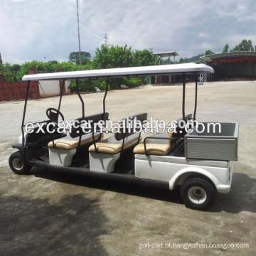 EXCAR 6 lugares carrinho de golfe elétrico clube carrinho de golfe price China buggy Car