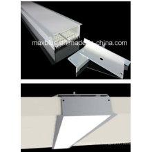 12V / 24V Empotrable Aluminio perfil LED Panel de luz (7532)