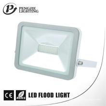 Ángulo de haz 120 ° Aluminio Garantía de 2 años 30W Lámpara de inundación iPad blanco