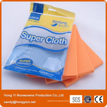 All Pupose Needle Punched Nonwoven Fabric Kitchen Cleaning Cloth, Viscose and Polyester Cloth
