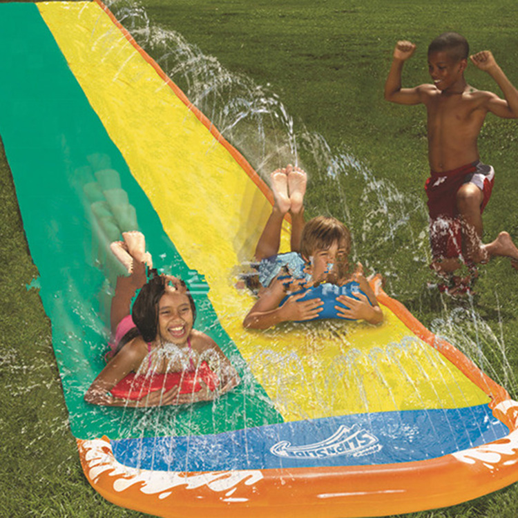 inflatable sprinkler and slides