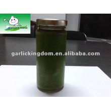 Frasco de vidro de 250g Pasta de pimentão verde de Jining Brother