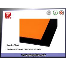 Orange Phenolic Laminated Bakelite Sheet