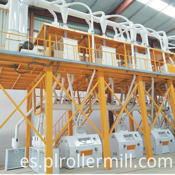 50T maize flour machine