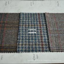 Tecidos leves de lã para vestuário tweed