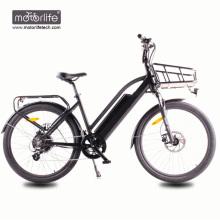 Elektrofahrrad BAFANG mittleres Laufwerk elektrisches Fahrrad / beste Qualität 36V350W elektrisches Fahrrad für Verkauf