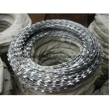 Lieferant von hochwertigem galvanisiertem Razor Barbed Wire
