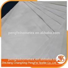 100% polyester tissu blanchi