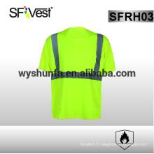 Vêtements ignifugés vêtements de sécurité réfléchissante à haute visibilité polo haute visibilité vêtements de travail de sécurité