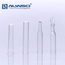 Micro inserção de vidro de venda de fábrica para cromatografia a gás 9-425 frascos de amostrador automático