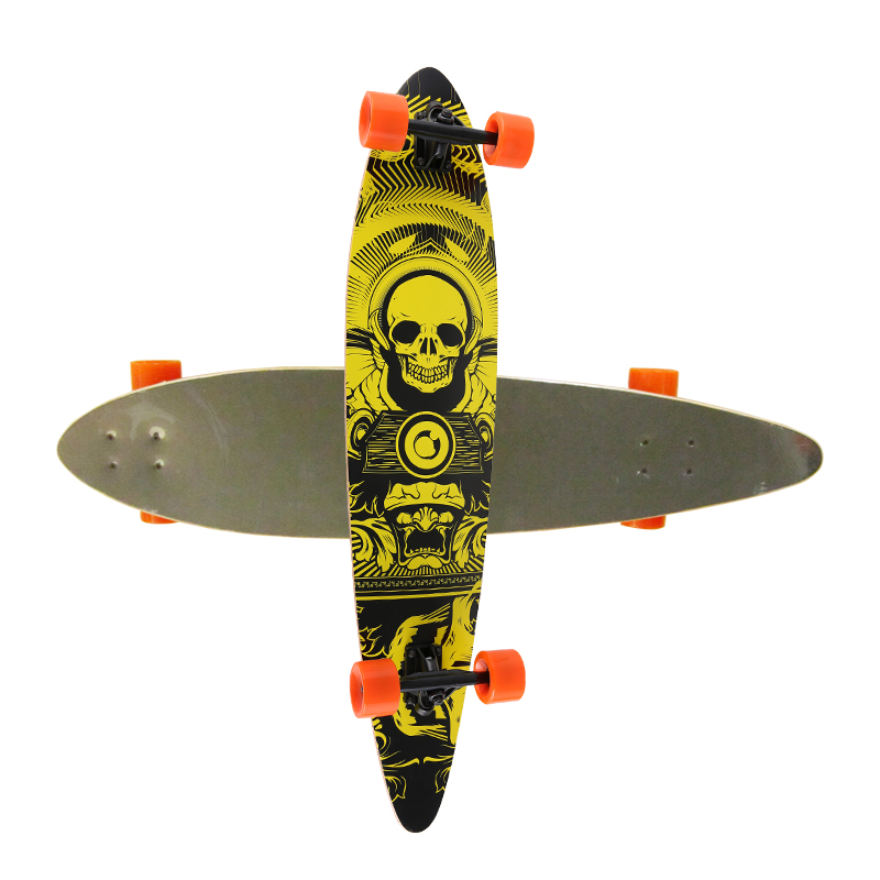 Flat Concave Long Skateboard