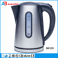 Anbo 1.7L Hot Sale Glass Electric Kettle with temperature controller with LED Light