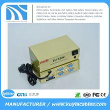 4-портовый видеоразветвитель VGA Video Splitter Box