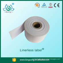 etiqueta sem liner, etiqueta de papel autocolante