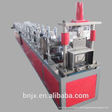 Stahl Regen Rohr Kalt Umformmaschine / Regen Gutter Produktionslinie