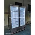 two glass door cooler display chiller
