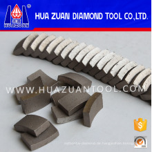 Diamant-Segment Bohren von Stahlbeton