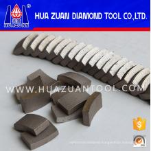 Diamond Segment Drilling Reinforced Concrete