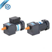 single phase three phase light weight ac induction motor with gearbox