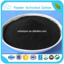 Los aditivos alimentarios utilizaron el carbón activado polvo con venta directa de la fábrica
