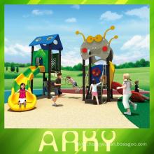 Updated new design PE board children outdoor playground park equipment