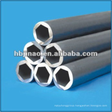 Seamless steel hex pipes and tubes