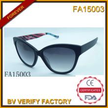 Ацетат материал рама с Polaroid объектива солнцезащитные очки (FA15003)