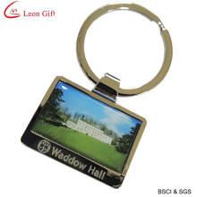 Logotipo personalizado Hotel chaveiro chaveiro impressão (LM1423)