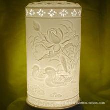 Des nuances de haute qualité en céramique de haute qualité, des lampes de porcelaine