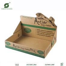 Caja de presentación de cartón Kraft
