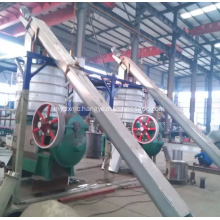rendering plant screw conveyor