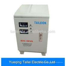 SVC-5000W Régulateur de tension de tension du servomoteur monophasé AC pour climatiseur