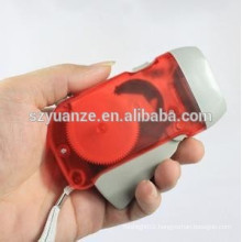 3 led hand-press dynamo torch,really charger flashlight