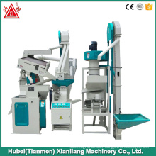 Rice mill machine with small multifunctional rice destoner