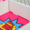 Роскошная твердая бумага, почтовая коробка, косметический набор, косметика, почтовая доставка, гофрированные упаковочные коробки