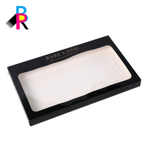 lash and pallet paper box with clearly window lid