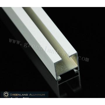 Aluminium-Vorhangschienenprofile mit gebürsteter weißer Farbe