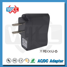 5v 0.5a/0.3a US power adapter
