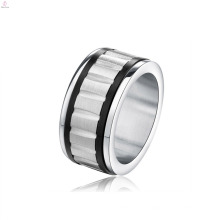 Déclaration simple Hommes Bijoux Rotating Ring Ring