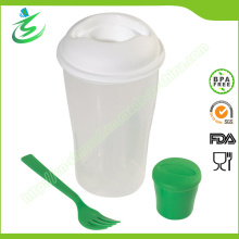Salade Shaker Cup avec logo personnalisé et couleur
