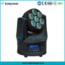 Beweglicher Haupthimmel-Strahl 105W RGBW 4in1 LED DMX