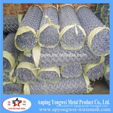 YW-2015 anping Hot Dipped Galvanized Temporary Construction Chain Link Fence