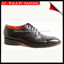 Office leather shoes with genuine leather upper