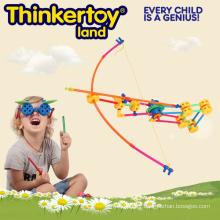 Bâtiments de construction de jouets en plastique de 2015 pour l'éducation et l'apprentissage
