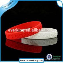 Fabriquer un bracelet en silicone de marque nouvelle