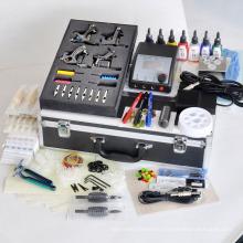 Kit profesional del tatuaje con 4 máquinas