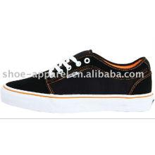 black mens canvas shoes